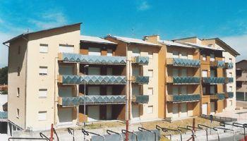 Palazzo realizzato per Aler a Lodi 1997/1998