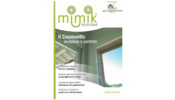 22 Maggio 2015 - Nuova partnership con l'Azienda Mimik System -