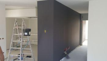 Tinteggio attico