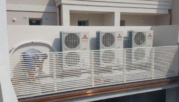 Installazione unità esterne pompe calore