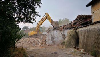 Demolizione fabbricato esistente