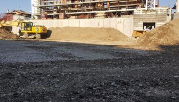 Sistemazione fondo scavo