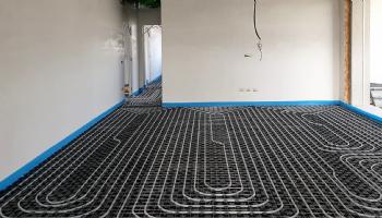 Radiante a pavimento tratto da Residenza Le Gemelle