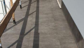 Terrazzo stuccato antracite