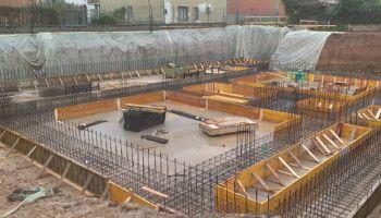 Fondazione palazzina 2