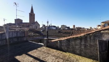 Veduta del Duomo dall'ultimo piano