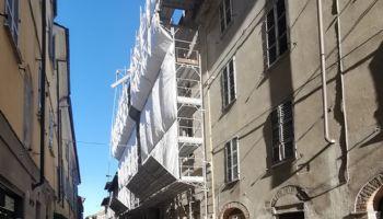 Andando verso Via San Giuliano
