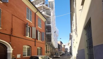 Vicolo del Pavone verso Via San Giuliano