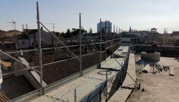 Veduta Vicolo del Pavone da terrazzo