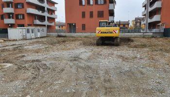 Inizio scavi